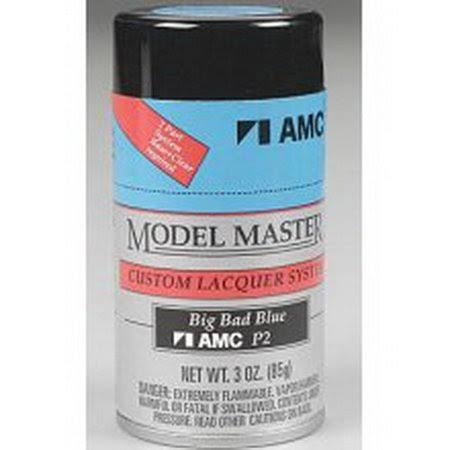 Testors Model Master Spray Big Bad Blue 3 oz 28127