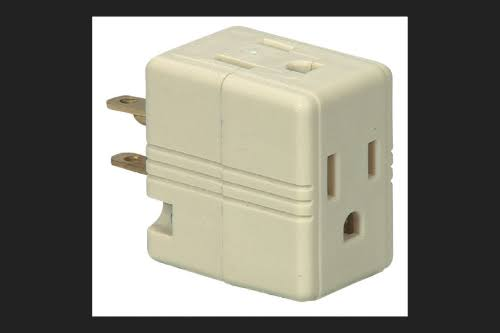 Ace Polarized 3 Outlet Adapter Surge Protection
