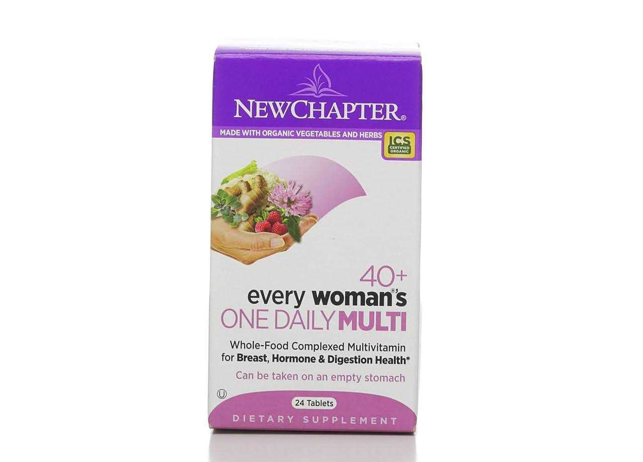 New Chapter Every Woman's One Daily 40+ Multivitamin Tablets - x24