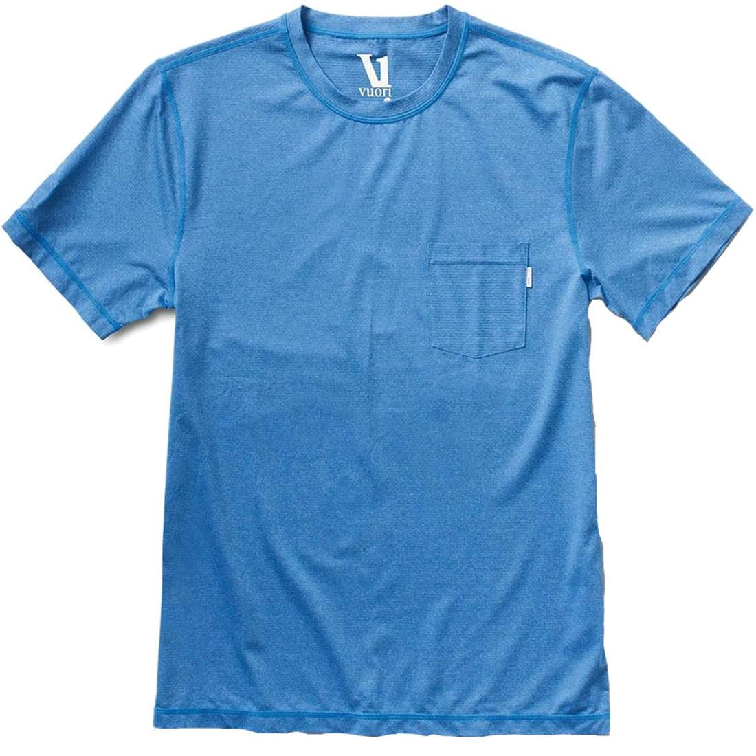 Vuori Men's Tradewind Performance Tee Azure XL