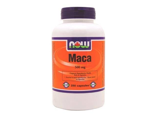 Now Maca Dietary Supplement - 500mg, 250ct