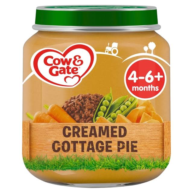 Cow and Gate Creamed Cottage Pie Jar - 125g