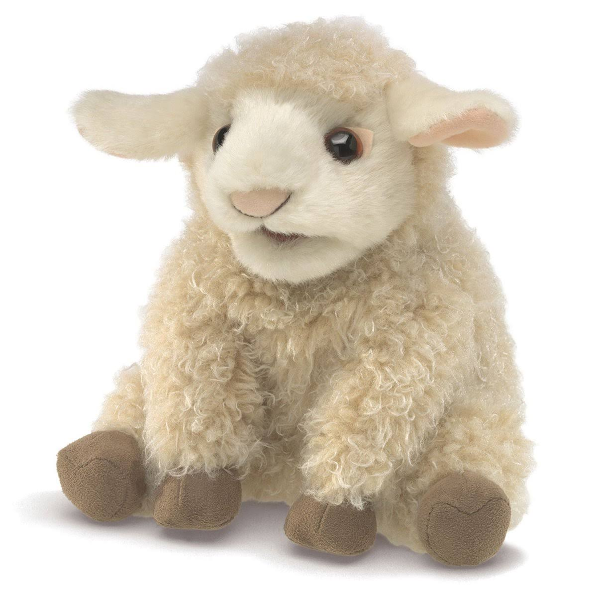 Folkmanis Lamb Puppet Toy - Small