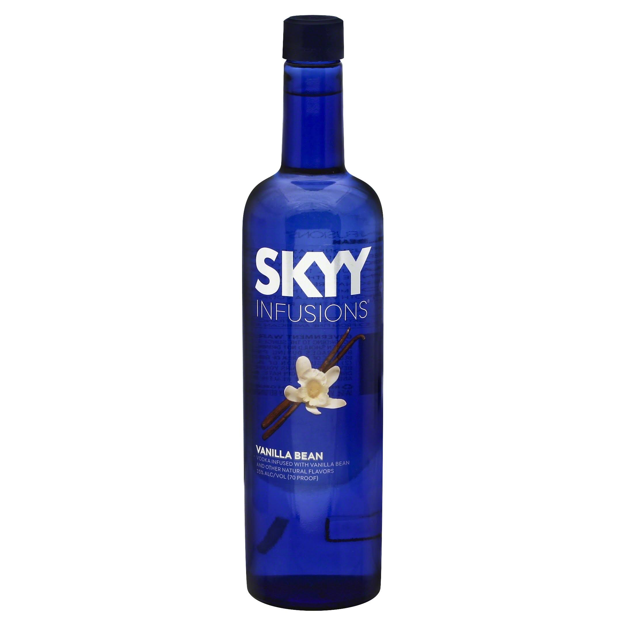 Skyy Infusions Vodka - Vanilla Bean, 750ml