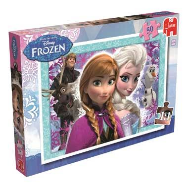 Disney Frozen Jigsaw Puzzle - 50 Pieces