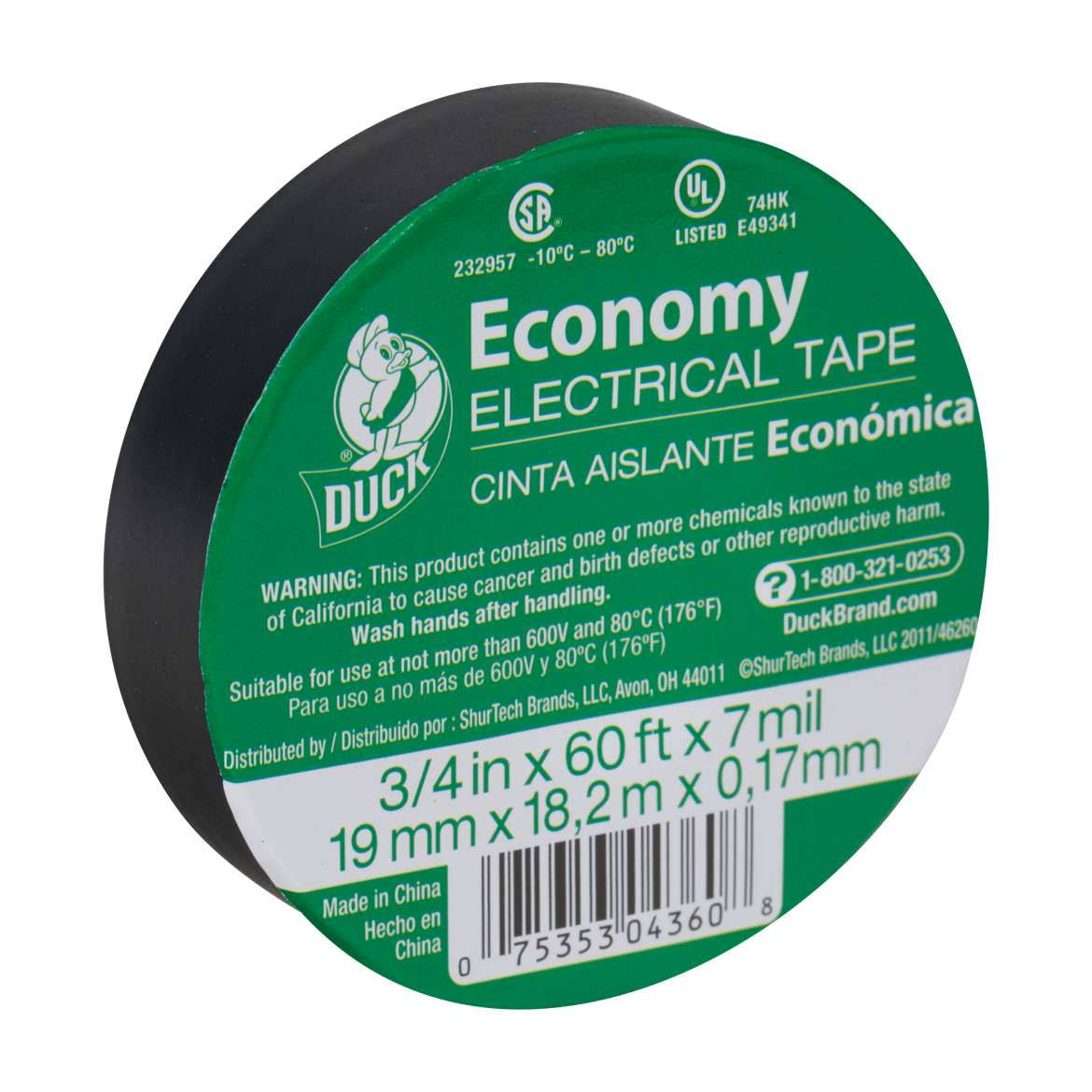 Henkel Electric Tape - Black, Vinyl