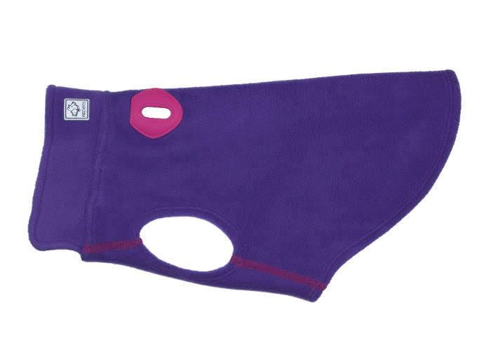 RC Pet Baseline Fleece Dog Pullover - Purple and Pink - Size 14