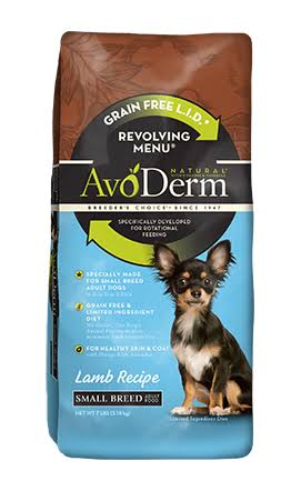 Avoderm Revolving Menu Dog Food - Lamb Recipe, Small Breed
