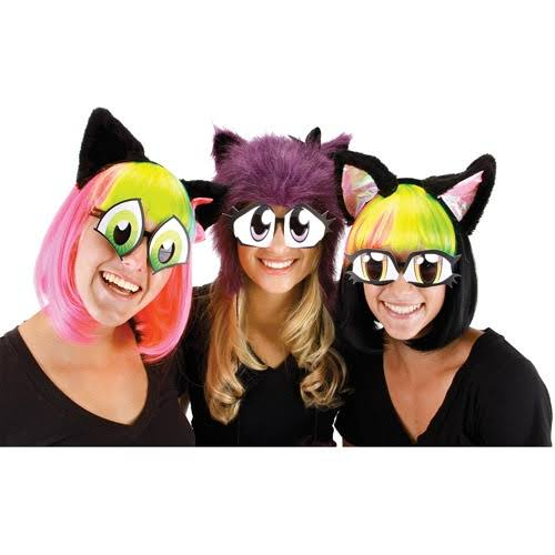 Elope Cartoon Eyes Set Costume Glasses