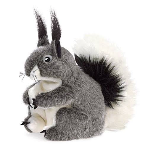 Folkmanis Puppets Play Pretend Fun Animal Puppet Toy - Abert's Squirrel