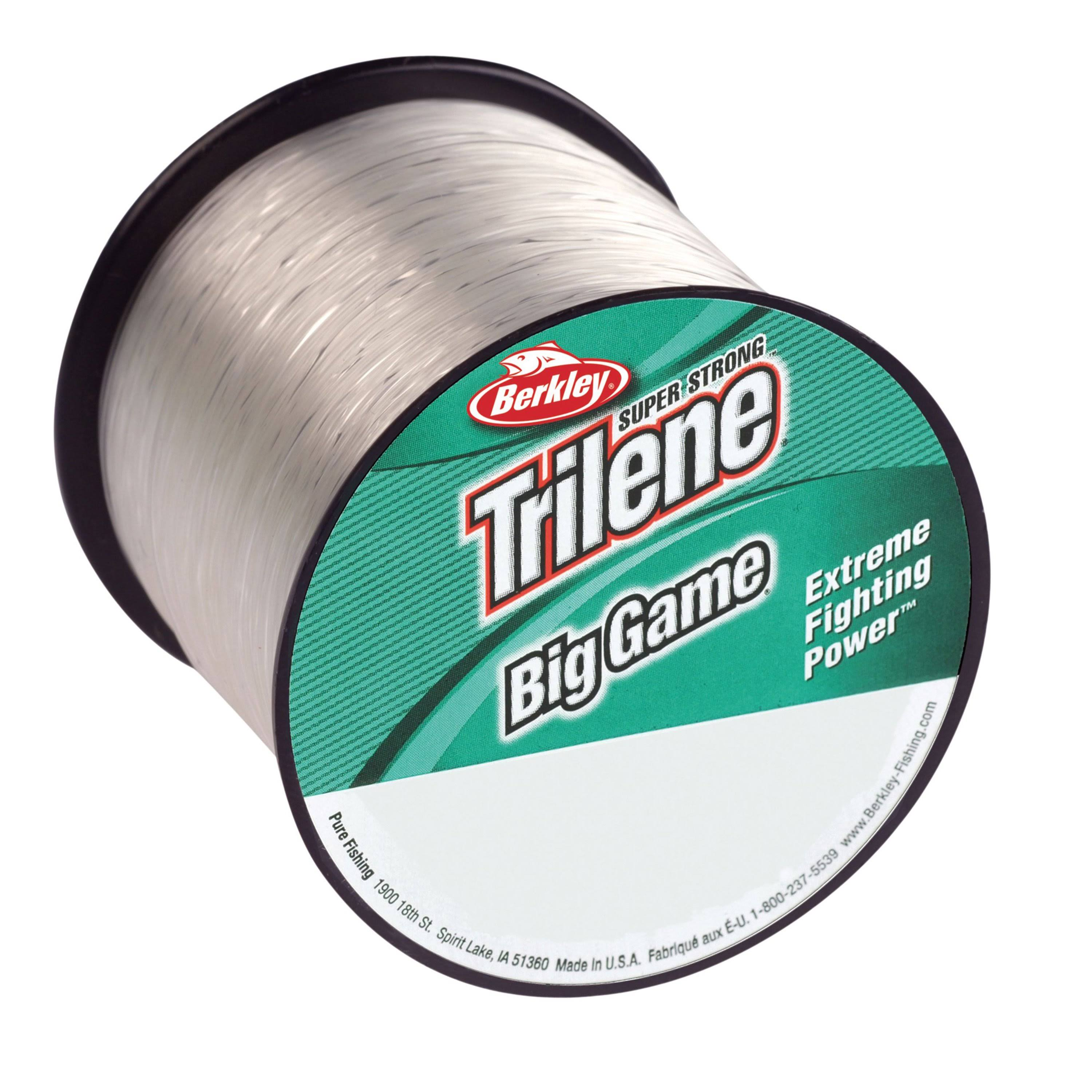 Berkley Trilene Big Game Monofilament Custom Spool - Clear, 1175yds, Test 12lbs