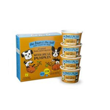 The Bear & The Rat Pumpkin Frozen Yogurt Dog Treat