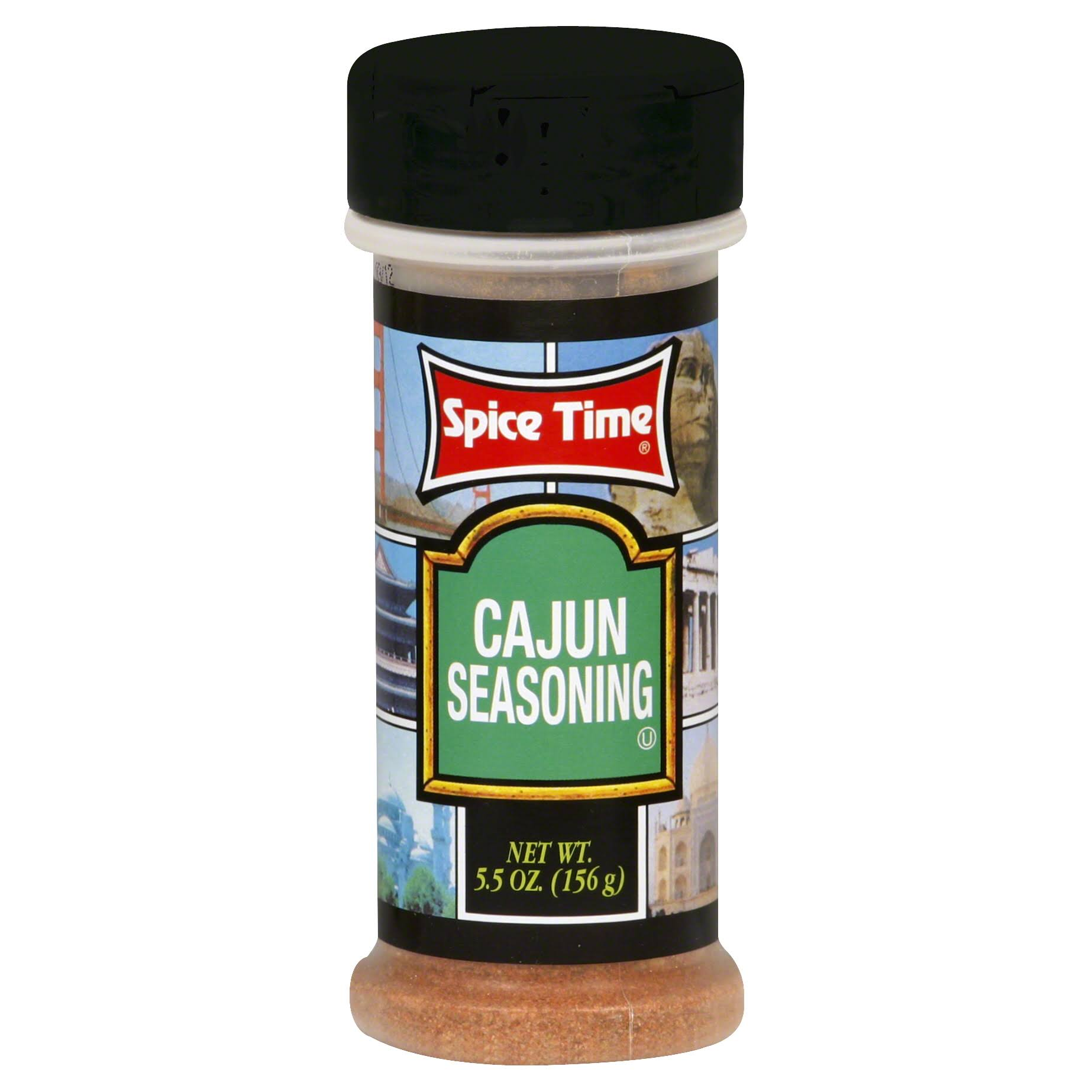 Spice Time Cajun Seasoning - 5.5 oz