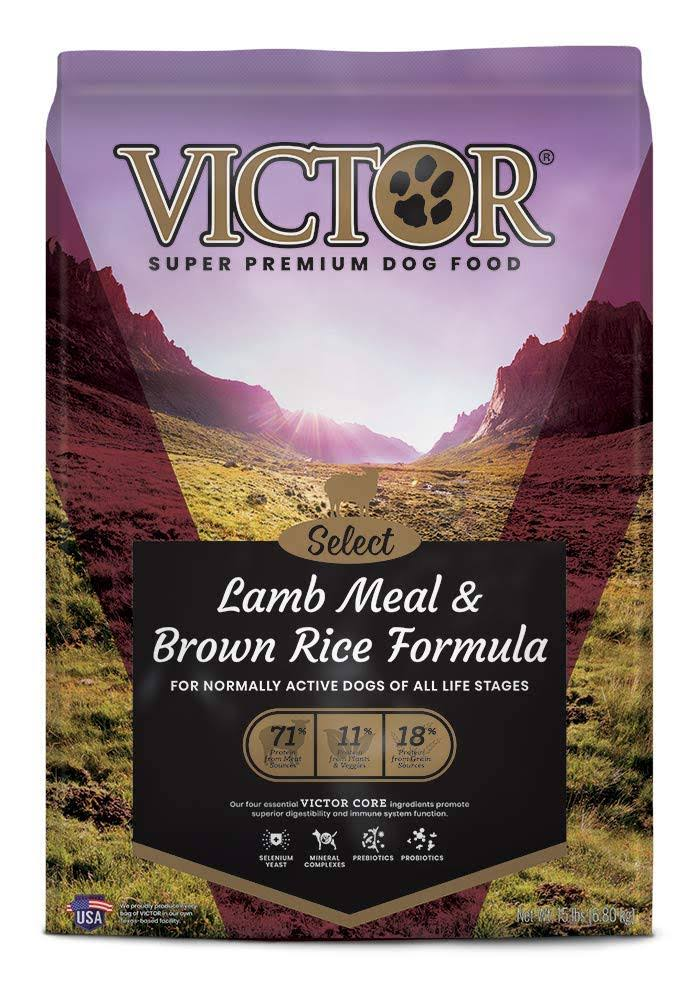 Victor 15 lbs Lamb Meal & Brown Rice Dog Food