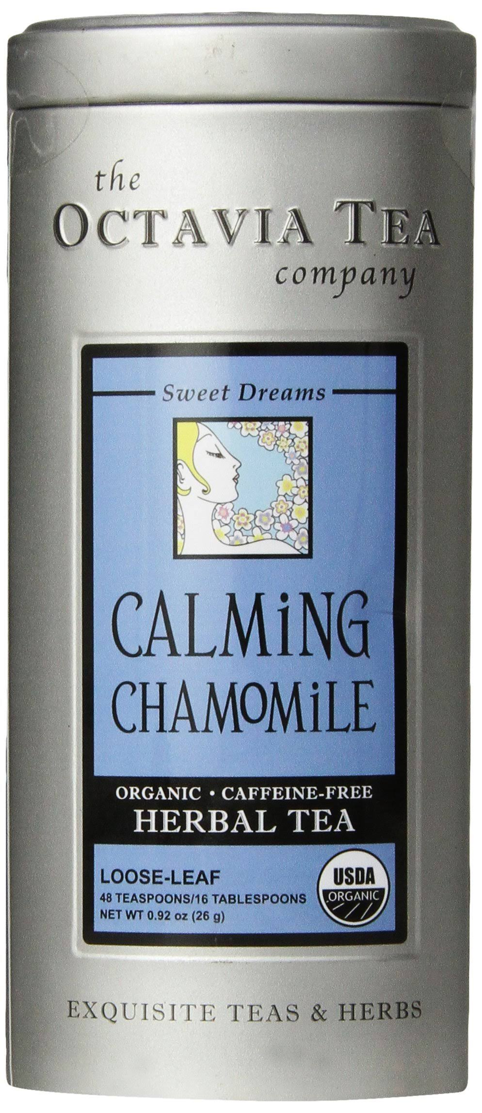 Octavia Calming Chamomile Herbal Tea Loose - 0.92 oz canister