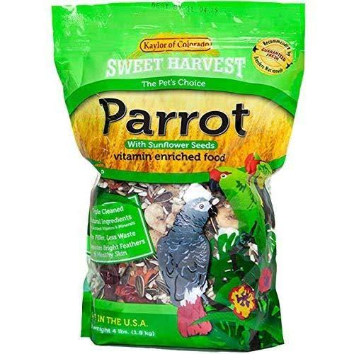 Sweet Harvest Parrot Food with Sunflower Seeds 2 lbs
