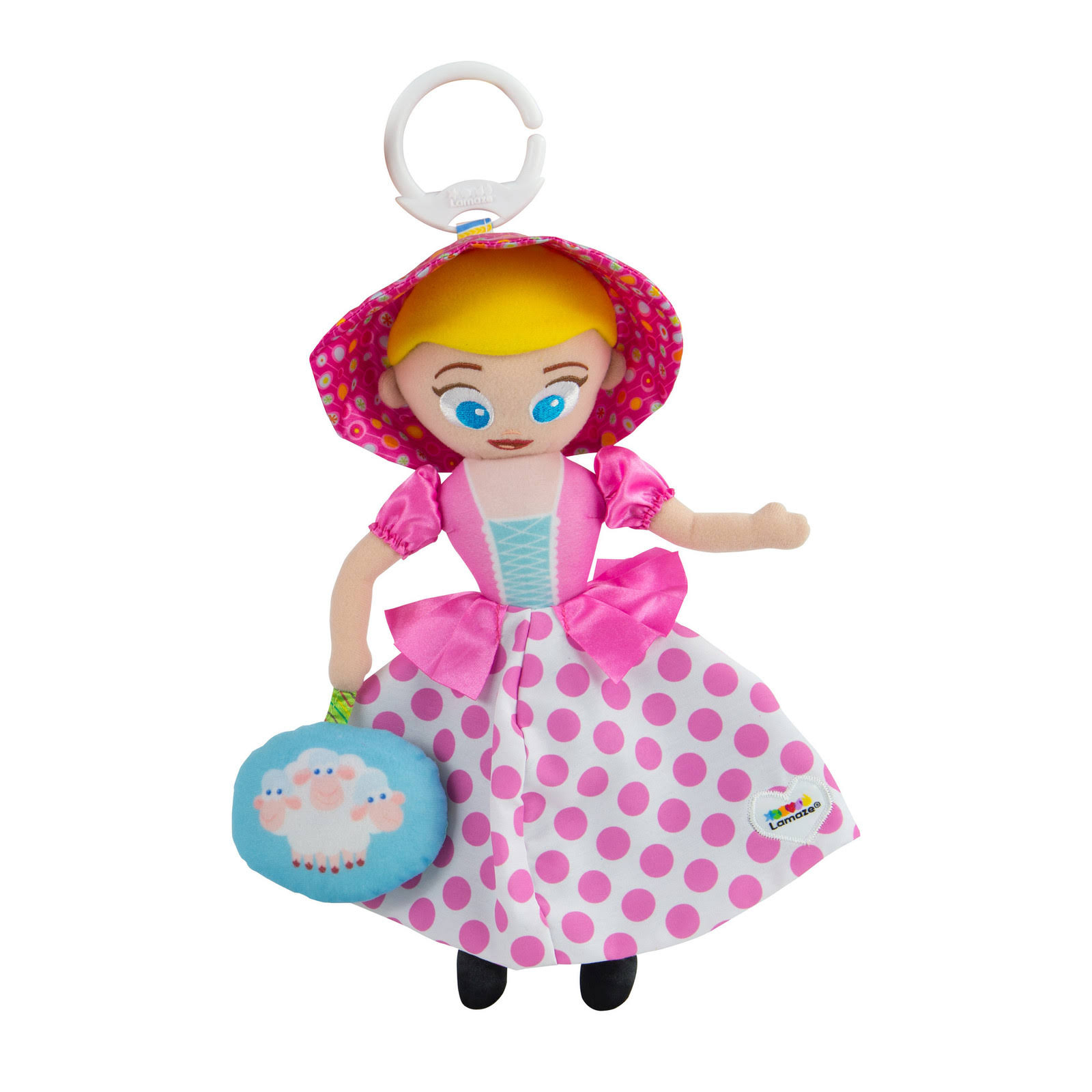 Lamaze Toy Story Clip and Go Bo Peep
