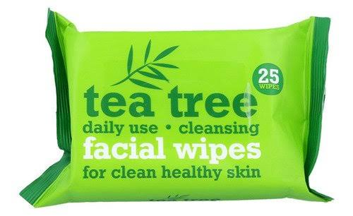 Tea Tree Facial Wipes - Twin Pack