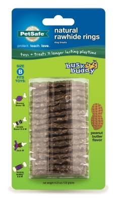 PetSafe Busy Buddy Refill Ring Dog Treats - Peanut Butter, Size B
