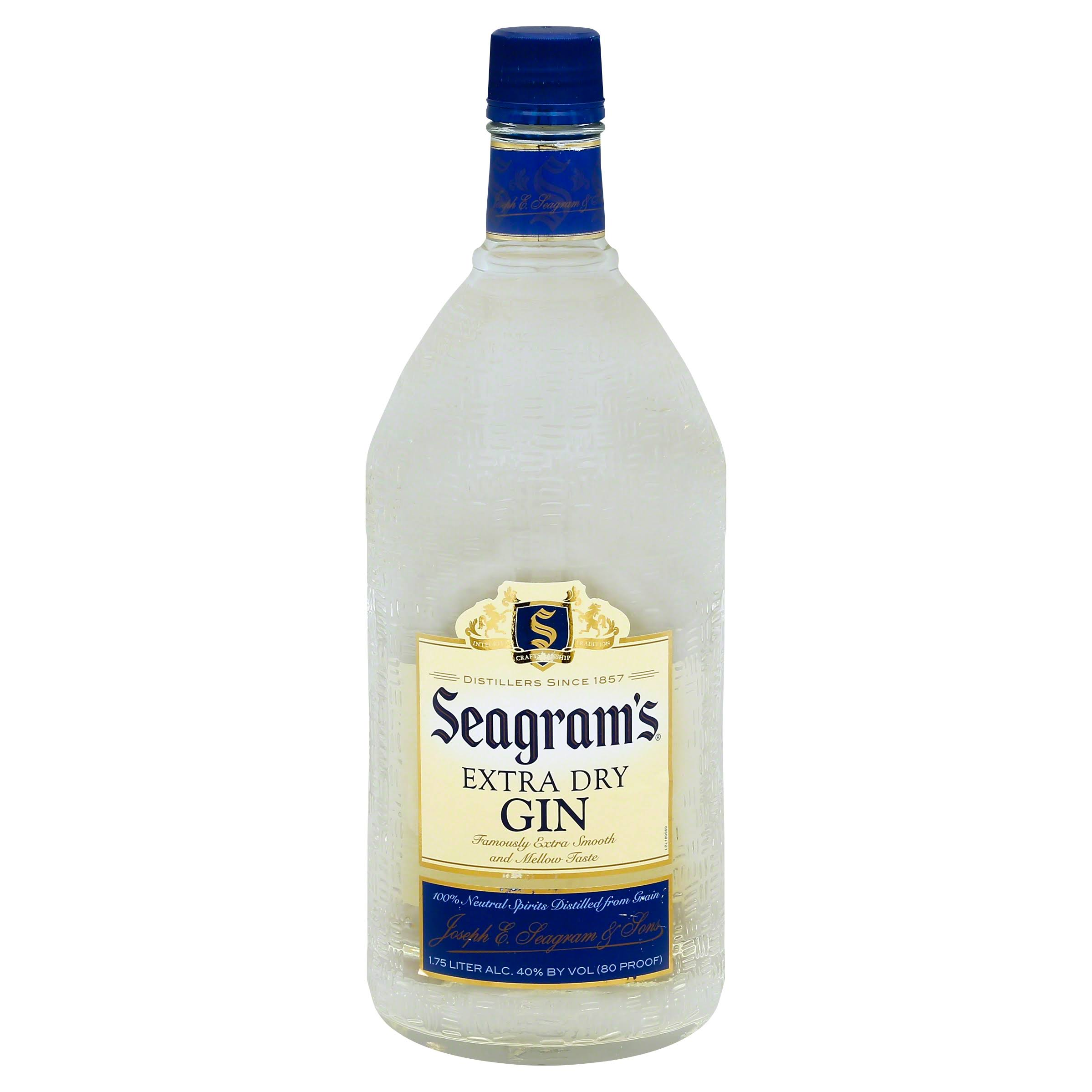 Seagram's Extra Dry Gin - 1.75l