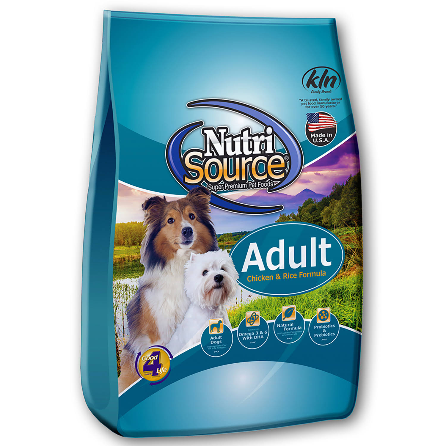Nutri Source Cubes Dog Food - Chicken and Rice