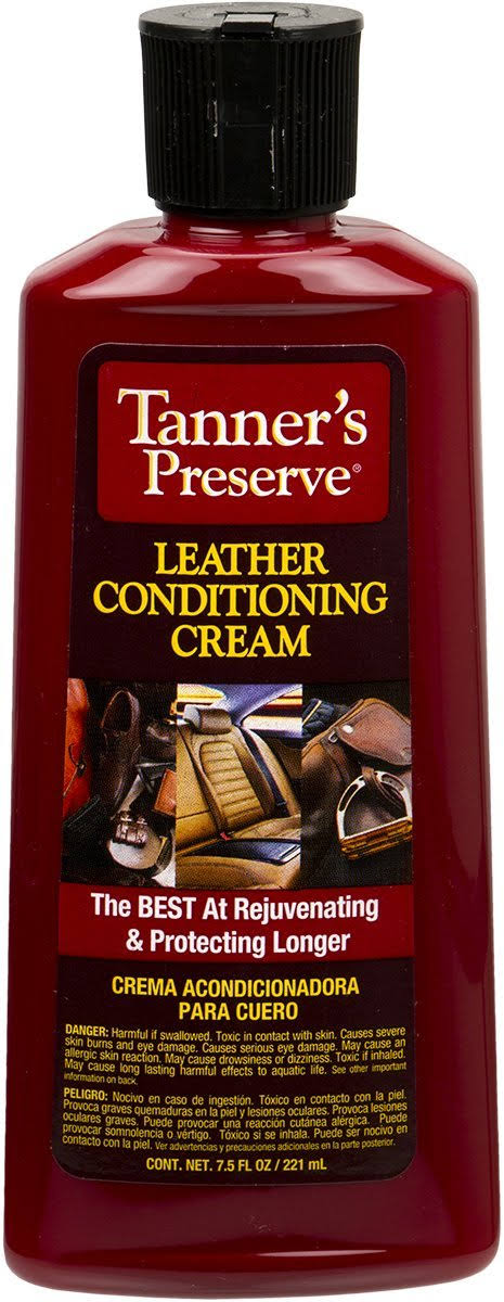 Tanners Preserve Leather Care Conditioner, 65893