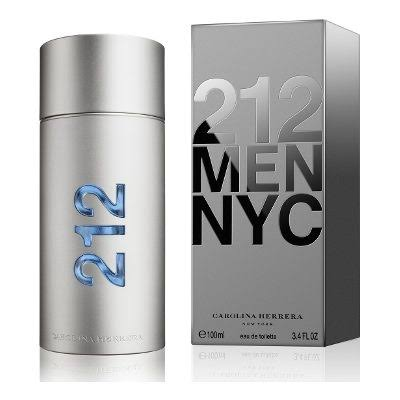 Carolina Herrera 212 Men Eau De Toilette Spray - 3.4oz