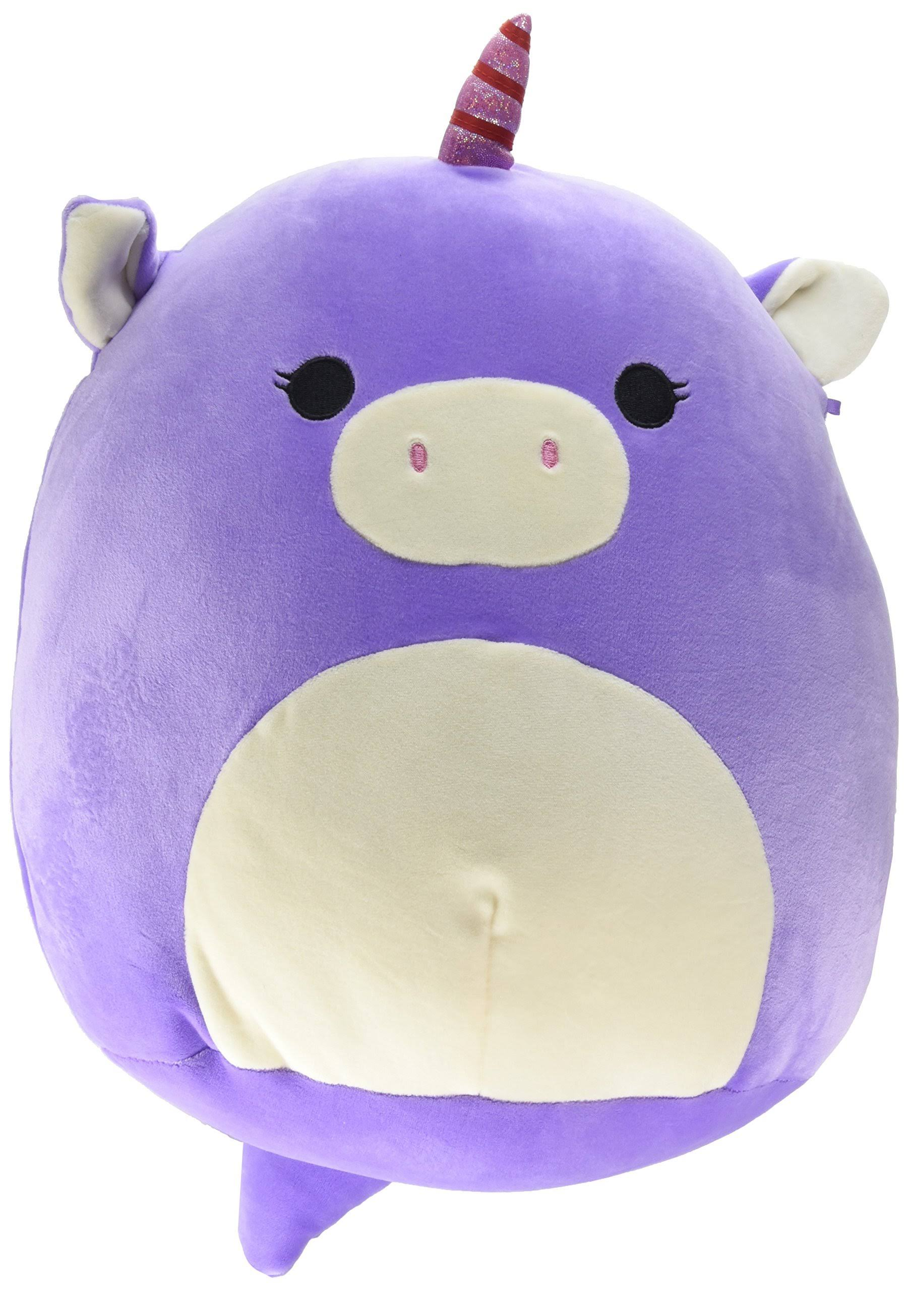 Kellytoy Squishmallow Unicorn Super Soft Plush Toy - Purple, 13""