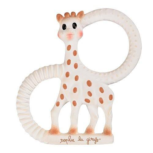 Sophie The Giraffe So Pure Teething Ring - White