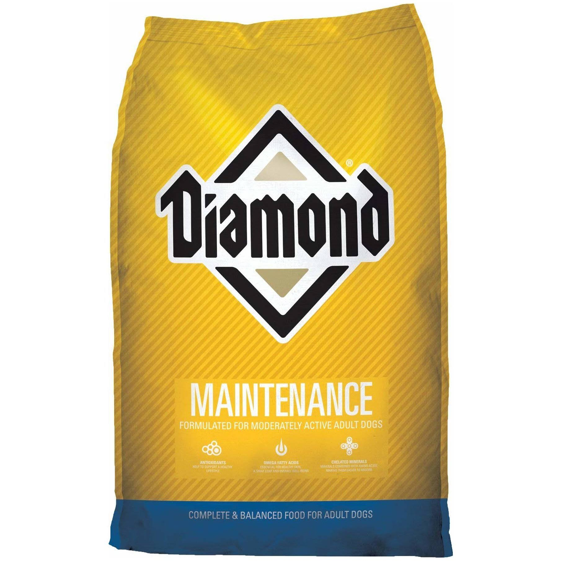 Diamond Maintenance Dog Food - Chicken Flavor, Dry, Adult, 20lbs
