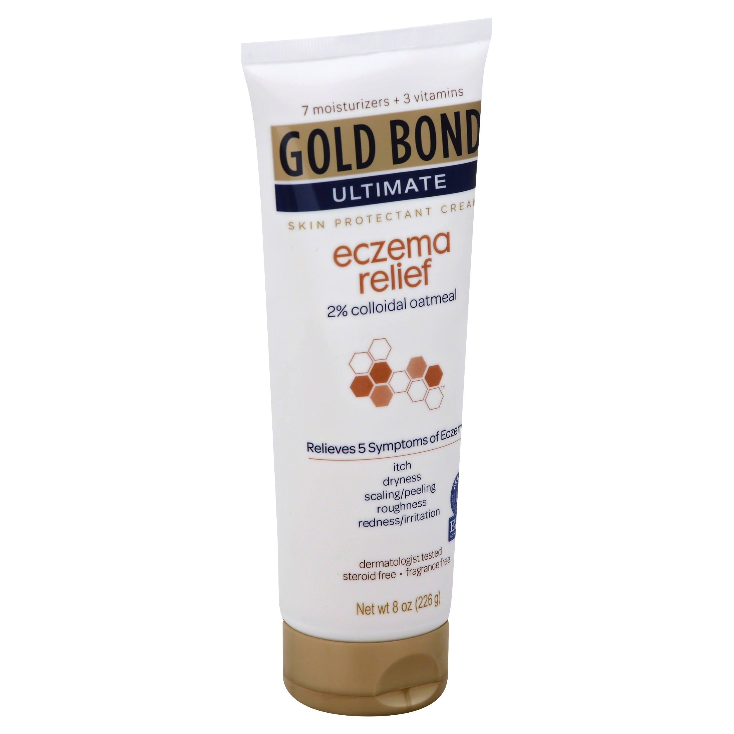 Gold Bond Ultimate Eczema Relief Skin Protectant Cream - 8 oz