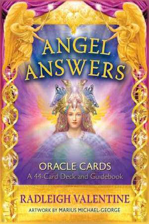 Angel Answers Oracle Cards: A 44-Card Deck and Guidebook - Radleigh Valentine