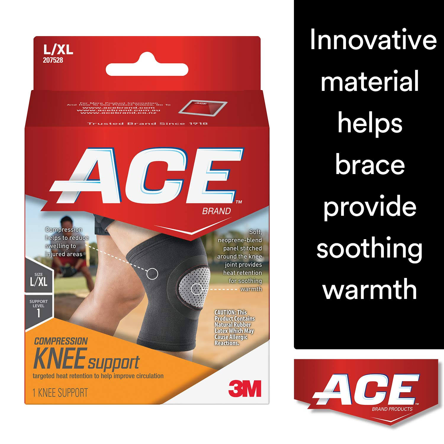 ACE Elasto-Preene Knee Support - 1 Knee Support
