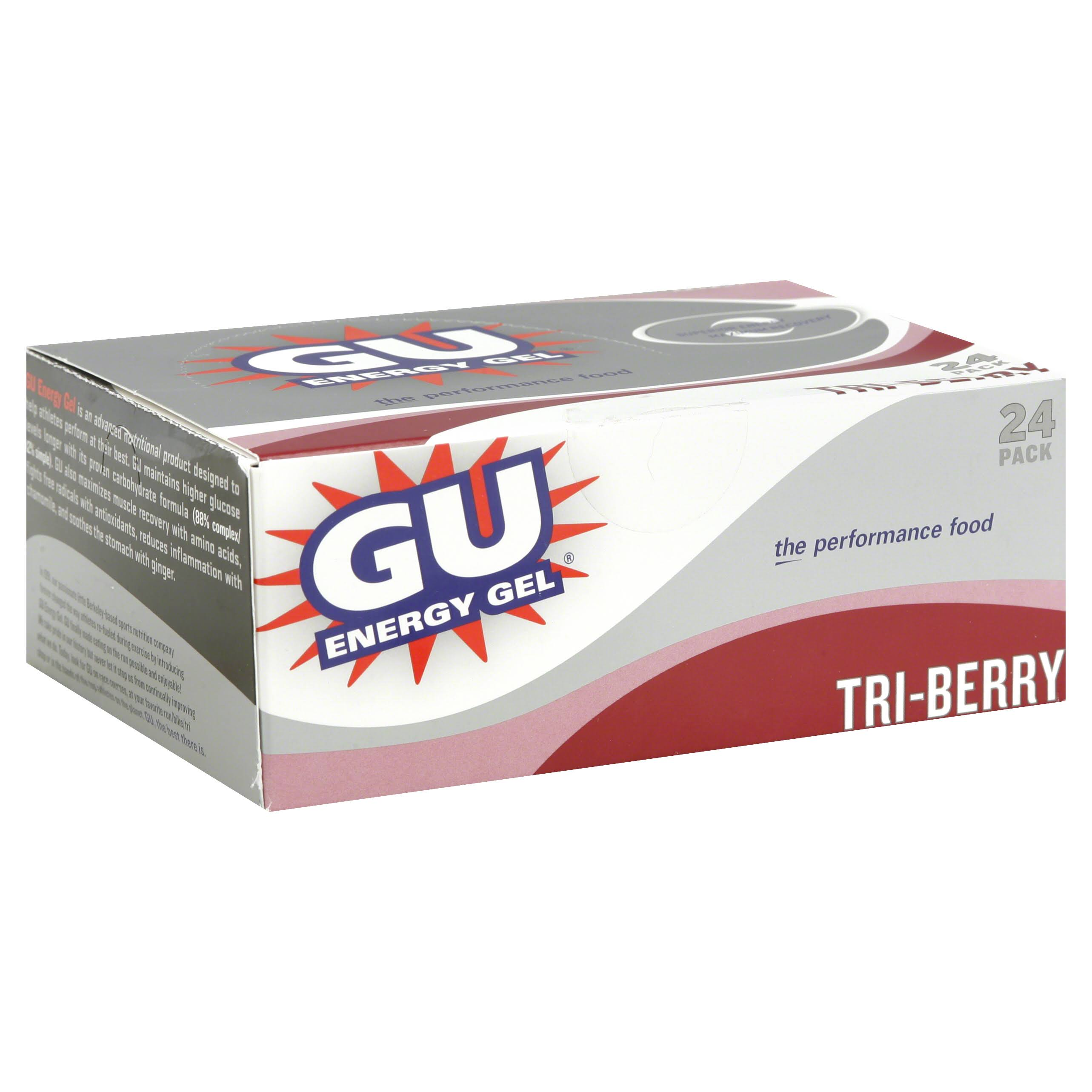 GU Nutrition Energy Gel - Tri Berry