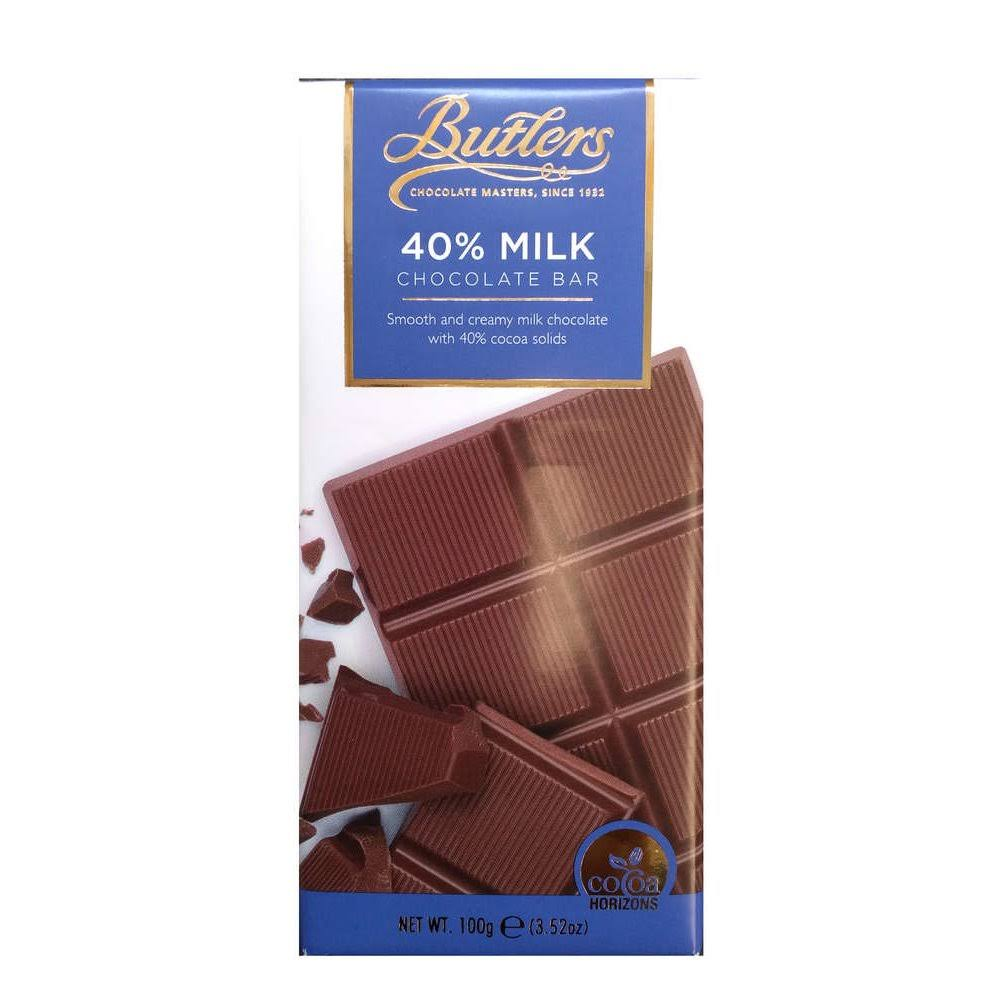 Butlers 40 Percent Milk Chocolate Bar - 100g