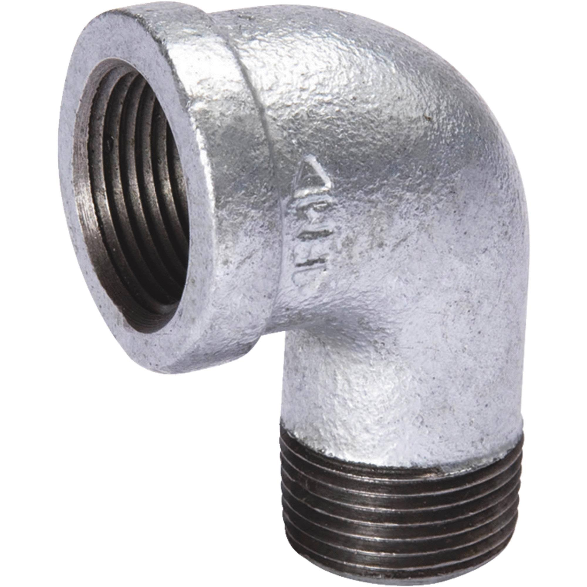 Mueller Global Galvanized 90 degree Street Elbow - 1/4""