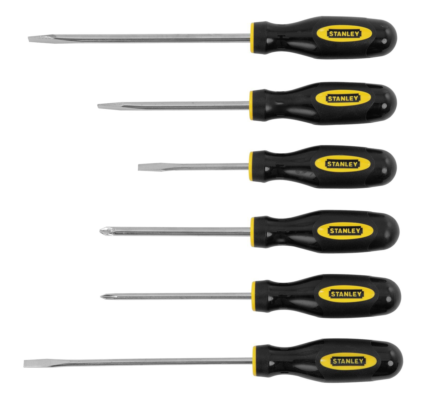 Stanley Screwdriver Set - 6 Pieces