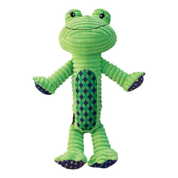 Kong Company rpjx2 Patches Adorables Frog, Green, Xlarge