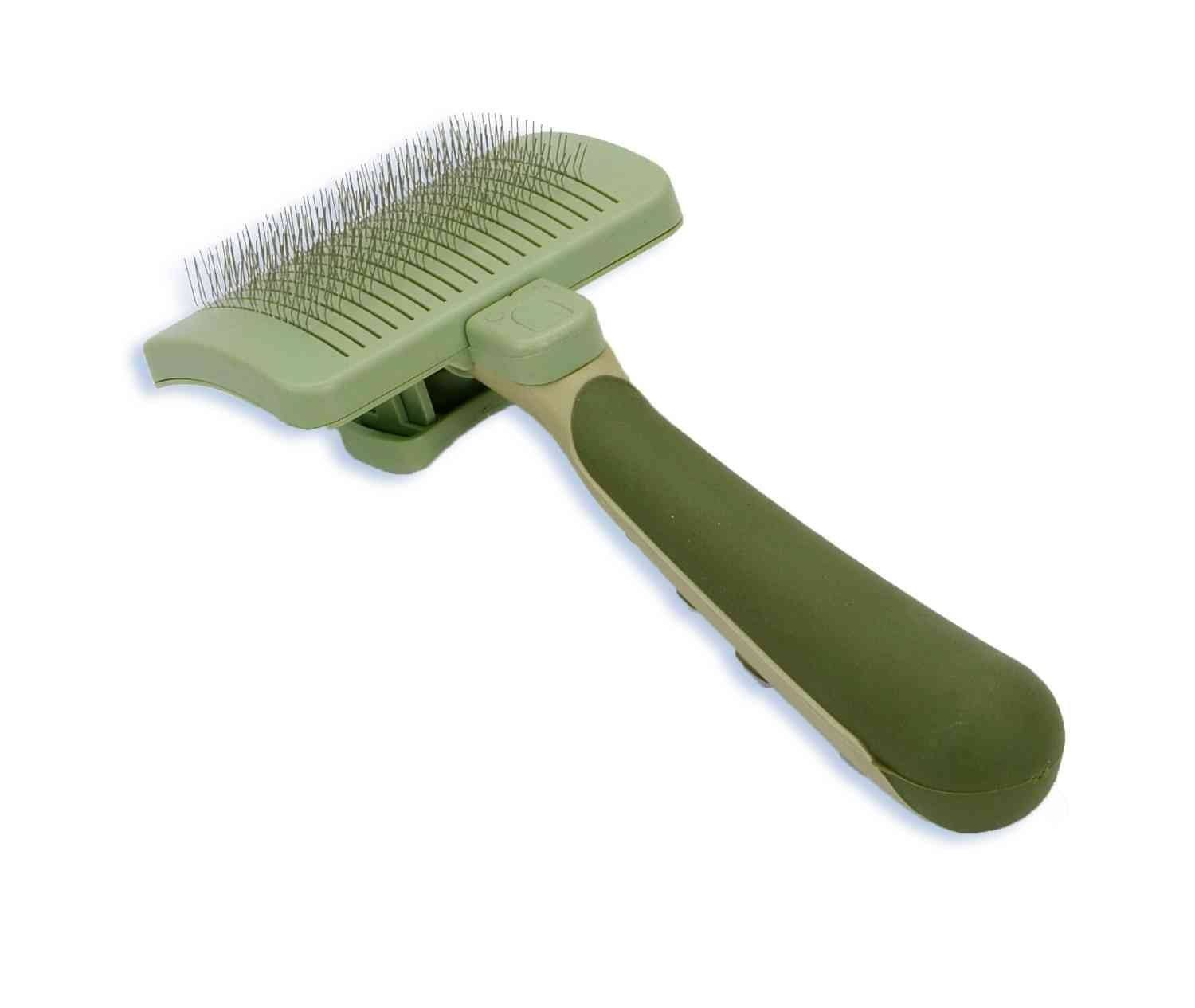 Safari Self-Cleaning Slicker Brush - Medium