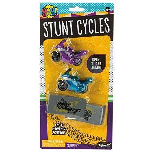 Stunt Cycles (Colors & Styles Vary) - Vehicle Toy by Toysmith (90905)