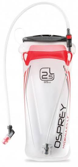 Osprey Hydraulics LT Reservoir - Clear/Red, 2.5l
