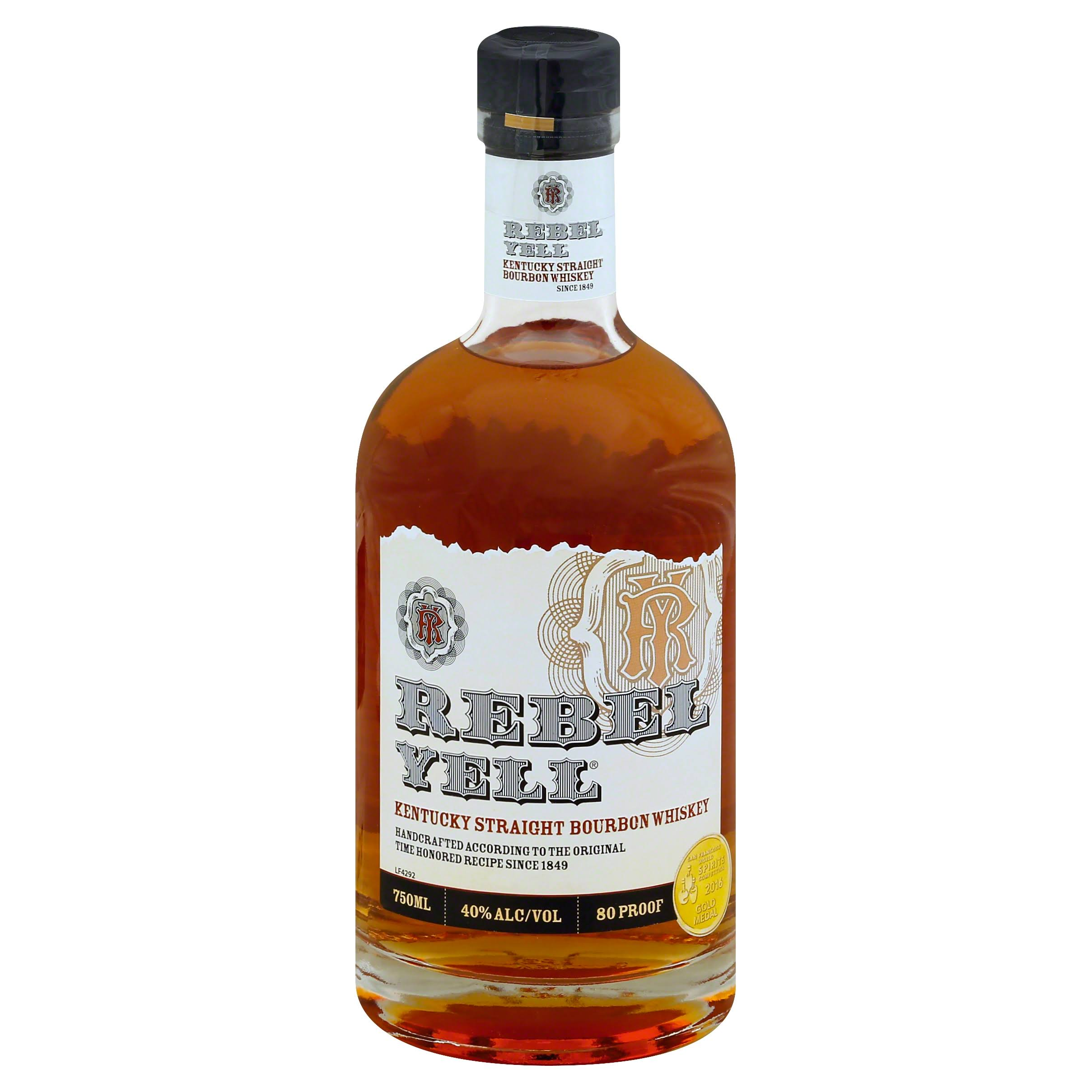 Rebel Yell Straight Bourbon Whiskey - 750ml
