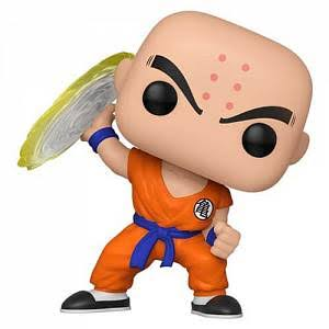 Funko Pop! Animation: Dragon Ball Z Vinyl Figure - Krillin with Destructo Disc