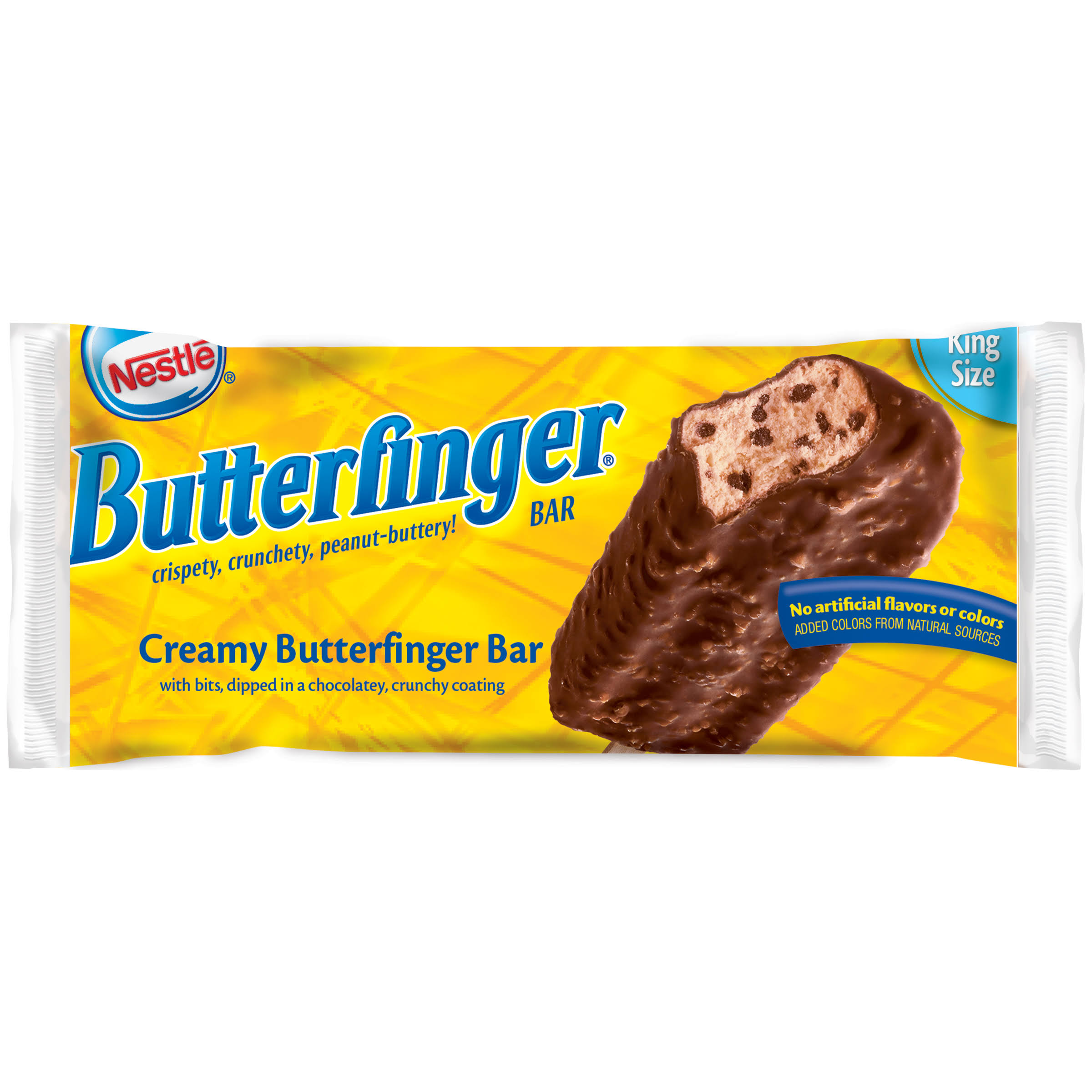 Nestle Loaded Ice Cream - Butterfinger, King Size, 4 fl oz