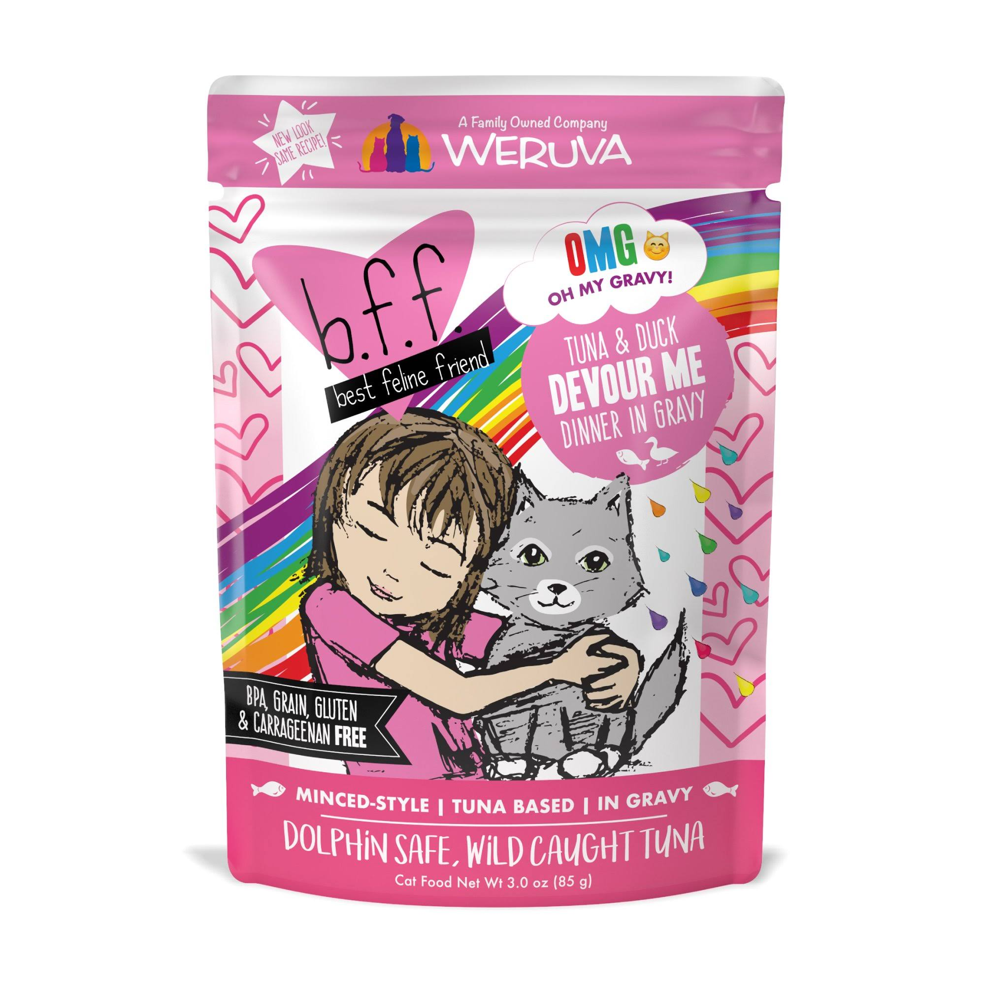 Best Feline Friend Grain Free Cat Food - Tuna and Duck Devour Me