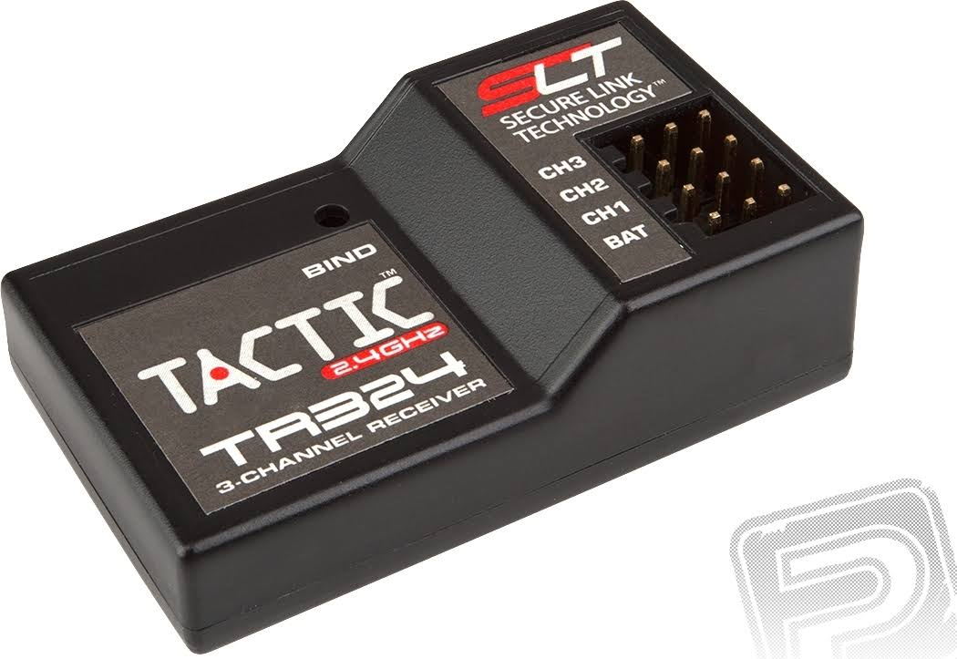 Tactic TR324 3 Channel SLT Receiver - 2.4ghz