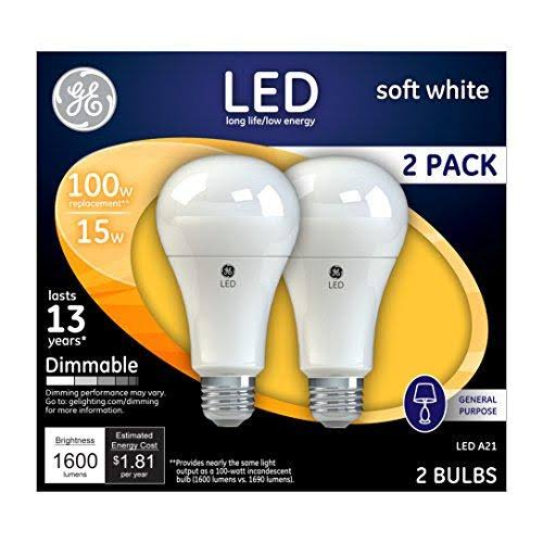 GE Lighting Dimmable LED Light Bulb