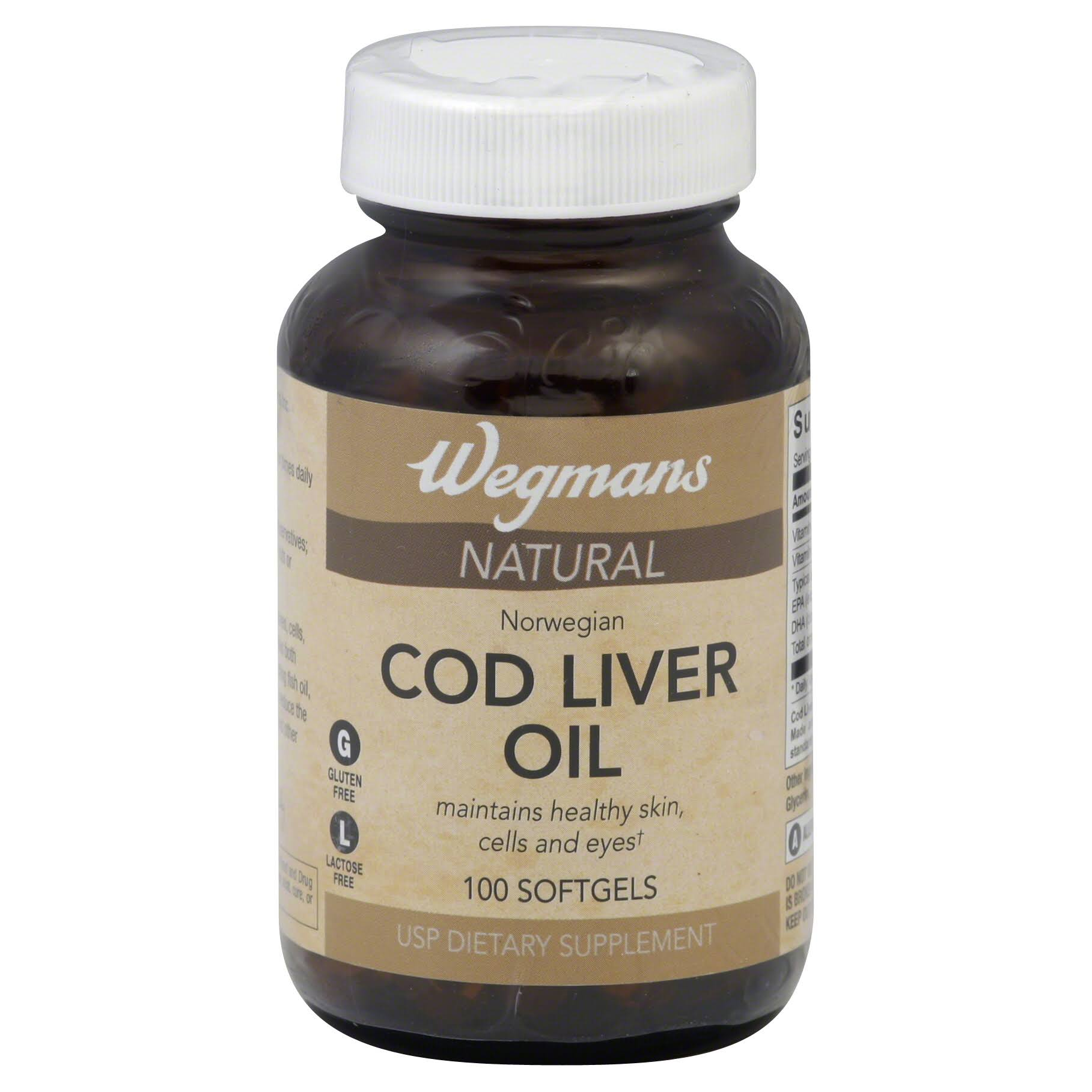 Baldwins Cod Liver Oil 100 Softgels