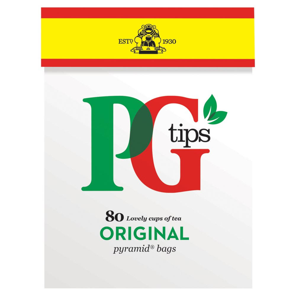 PG Tips Original Tea - 80 Pyramid Tea Bags