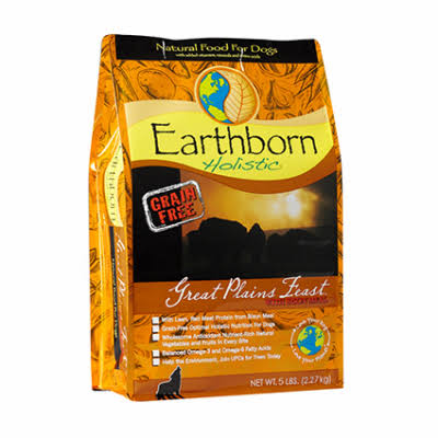 Earthborn Great Plains Feast Dog Food - 6 Lbs